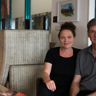 Cafe All Sorts co-owners Katrina Barlow and Cameron Shield were staring down the barrel of a 70 per cent downturn thanks to the pandemic, but have now recovered almost completely.