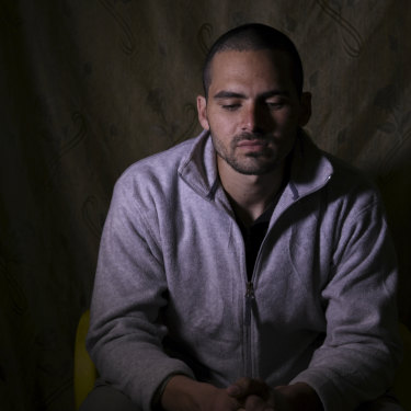 Australian IS member and air conditioner serviceman Mohammed Noor Masri in a Kurdish prison.