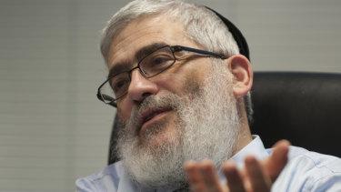 Rabbi Joseph Gutnick in 2013.