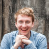 English comedian Joe Lycett hosted the Sydney Comedy Festival Gala.