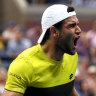 Breakthroughs as Berrettini, Bencic and Andreescu reach US Open semis