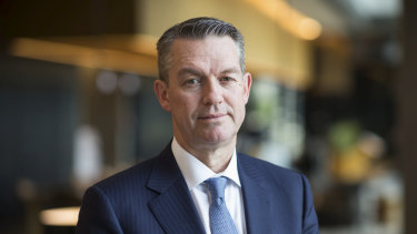 ANZ Bank group executive for retail and commercial banking, Mark Hand,