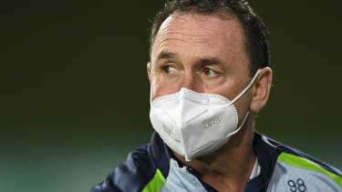 Canberra Raiders coach Ricky Stuart says the Curtis Scott sacking hasn't been a distraction.