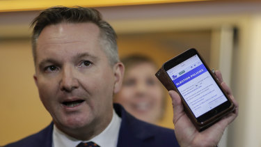 Shadow treasurer Chris Bowen says new ABS figures show the budget is being built on high taxes from the Coalition