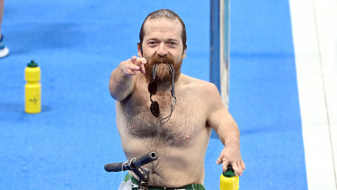 Grant 'Scooter' Patterson is the loveable larrikin of the Australian Paralympic swim team.