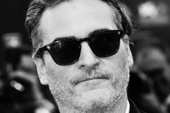 Hunger fuelled his performance: Joaquin Phoenix walks the red carpet at Venice.