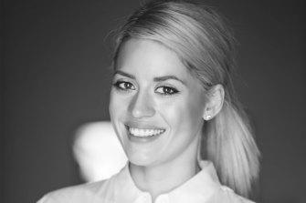 Online beauty host Cassie McNeill.
