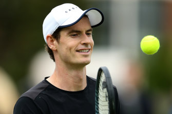 Andy Murray's priority is the 2020 Australian Open.