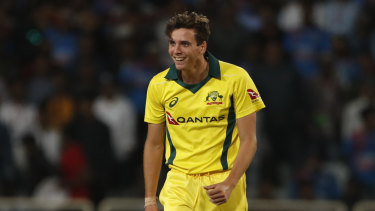 Jhye Richardson could be a handy asset for Australia in the Ashes.