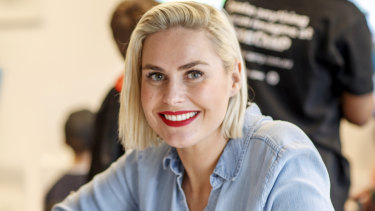 Co-founder of Code Camp Hayley Markham is running one part of her team from Sydney while her co-founders head up UK and US operations.
