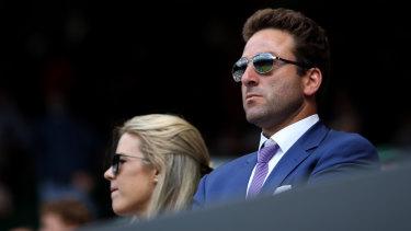 Justin Gimelstob at Wimbledon.