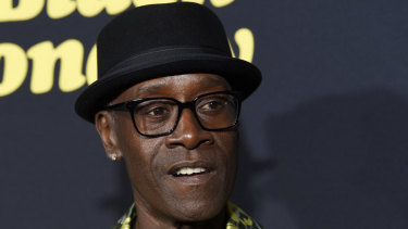 Don Cheadle jokes about not doing press with Mark Ruffalo for Avengers: Endgame because of the star's habit of giving away spoilers.