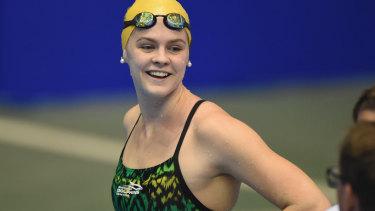 Swimmer Shayna Jack.