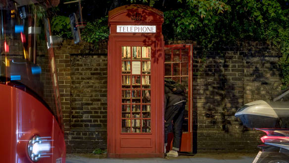 Iconic red phone box makes a comeback in Britain