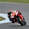 Miller second fastest in tricky Australian MotoGP practice conditions
