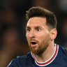 Lionel Messi scored two goals, including the decisive penalty, in PSG's come-from-behind win over Leipzig.