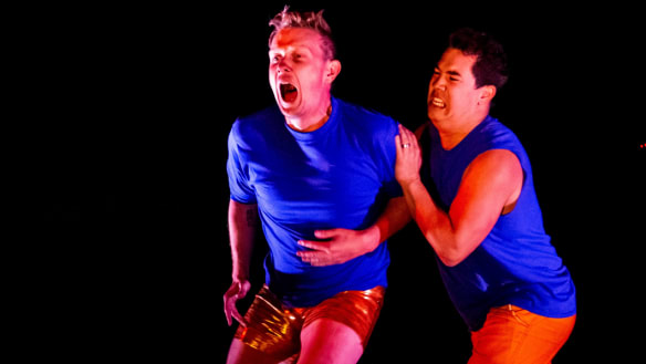 Some enjoyable moments, but Energeia lacked strong choreography