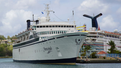 Scientology cruise ship quarantined over measles case