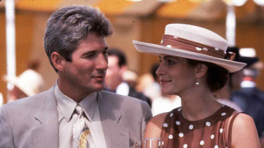Richard Gere and Julia Roberts in 1990's Pretty Woman.