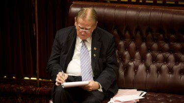 Christian Democrats leader Fred Nile has been a Member of Parliament for 37 years.