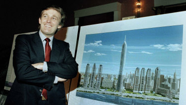 According to tax records, Trump lost more than $US1 billion on failed business deals between 1985 and 1994.