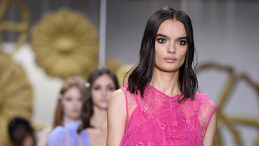 Pops of pink and lace at Alice McCall.
