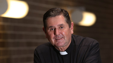 Father Chris Riley is unwell.