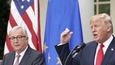 Last year the European Commission President Jean-Claude Juncker and Donald Trump agreed to try to negotiate a trade deal. America's demands will make it a difficult discussion.
