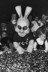 Reggie Rabbit, the mascot of South Sydney Leagues Club.