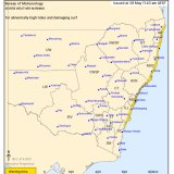 The severe weather warning issued at 11.43am on Friday, May 28, 2021.