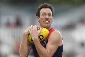 Melbourne's Mitch Brown.