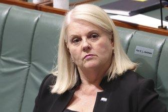 Minister for Home Affairs Karen Andrews.