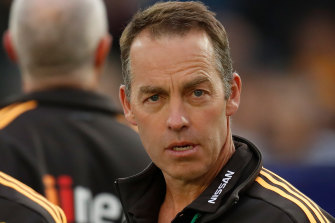 Clarkson is one of the coaches, through his 'Clarko's Cluster' zone, who contributed to the low-scoring trend in the AFL.