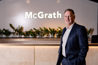 McGrath Limited CEO Eddie Law.