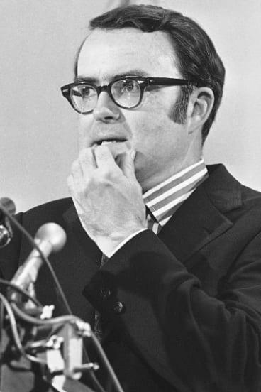 Then-acting FBI director William Ruckelshaus in 1973.