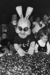 Reggie Rabbit, the mascot of South Sydney Leagues Club.