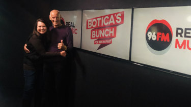 Lisa Shaw and Fred Botica are back on the airwaves and have boosted 96fm's ratings since joining the station.