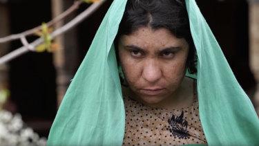 Ali Jan's wife, Bibi.