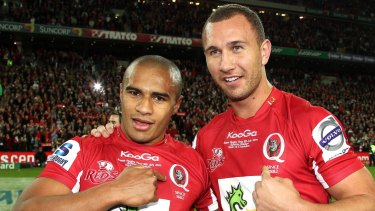 Former Reds teammates Will Genia and new Rebels recruit Quade Cooper will look to 'create some magic' together.