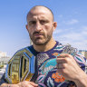 'Sensitive little princess': The Australian UFC star who doesn't talk trash