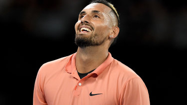 Nick Kyrgios is offering to drop food off for people struggling during the coronavirus shutdown.