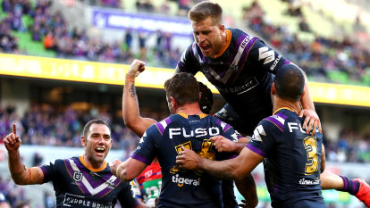 Melbourne Storm named best sporting team in Australasia