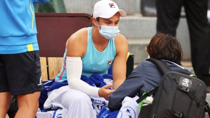 'Brutal' conditions: Arm injury hampers Barty as French Open looms