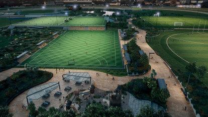 Caulfield Racecourse unveils $570m sports, entertainment precinct plan
