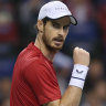 Murray shines in Antwerp to reach first semi-final in two years