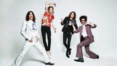 The Darkness have a new album and no plans to stop acting out their dreams any time soon.