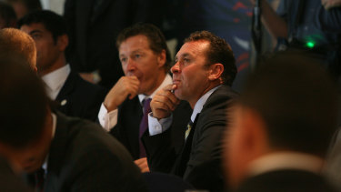 Craig Bellamy and Ricky Stuart.