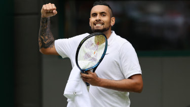 Nick Kyrgios withdrew due to injury in his third round Wimbledon match this week.