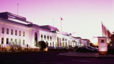 The report called for a review into the functions and scope of the Museum of Australian Democracy at Old Parliament House.