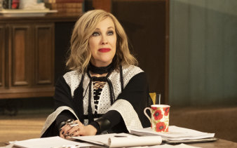 Catherine O'Hara frequently steals the show in Schitt's Creek.